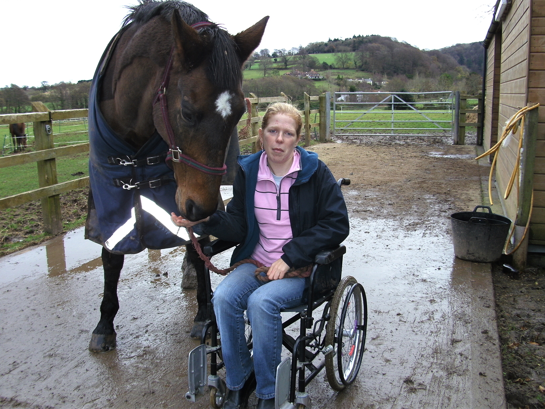 Why Horses Are Britta Francis Therapy The Gaitpost