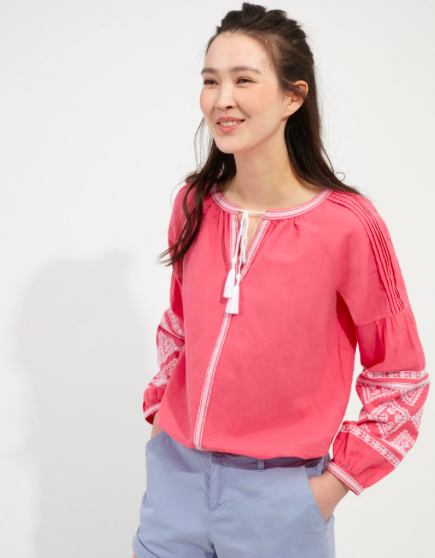 Yolanda Embroidered Long Sleeve Top</a>  </div>     </div>   <div class=