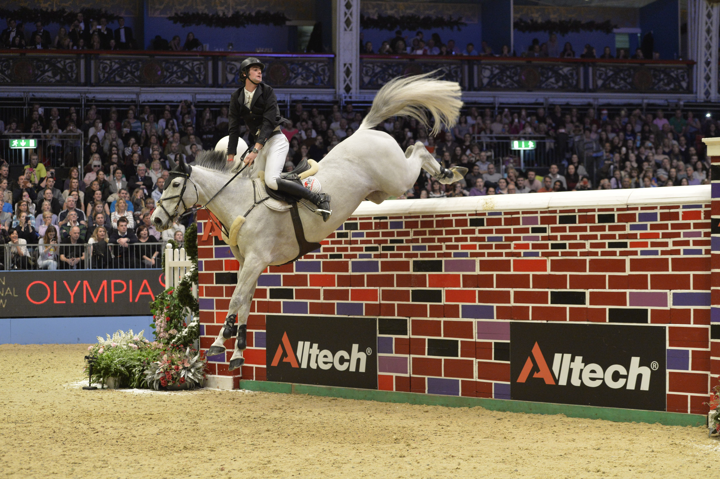 Olympia: The Alltech Christmas Puissance 2015
