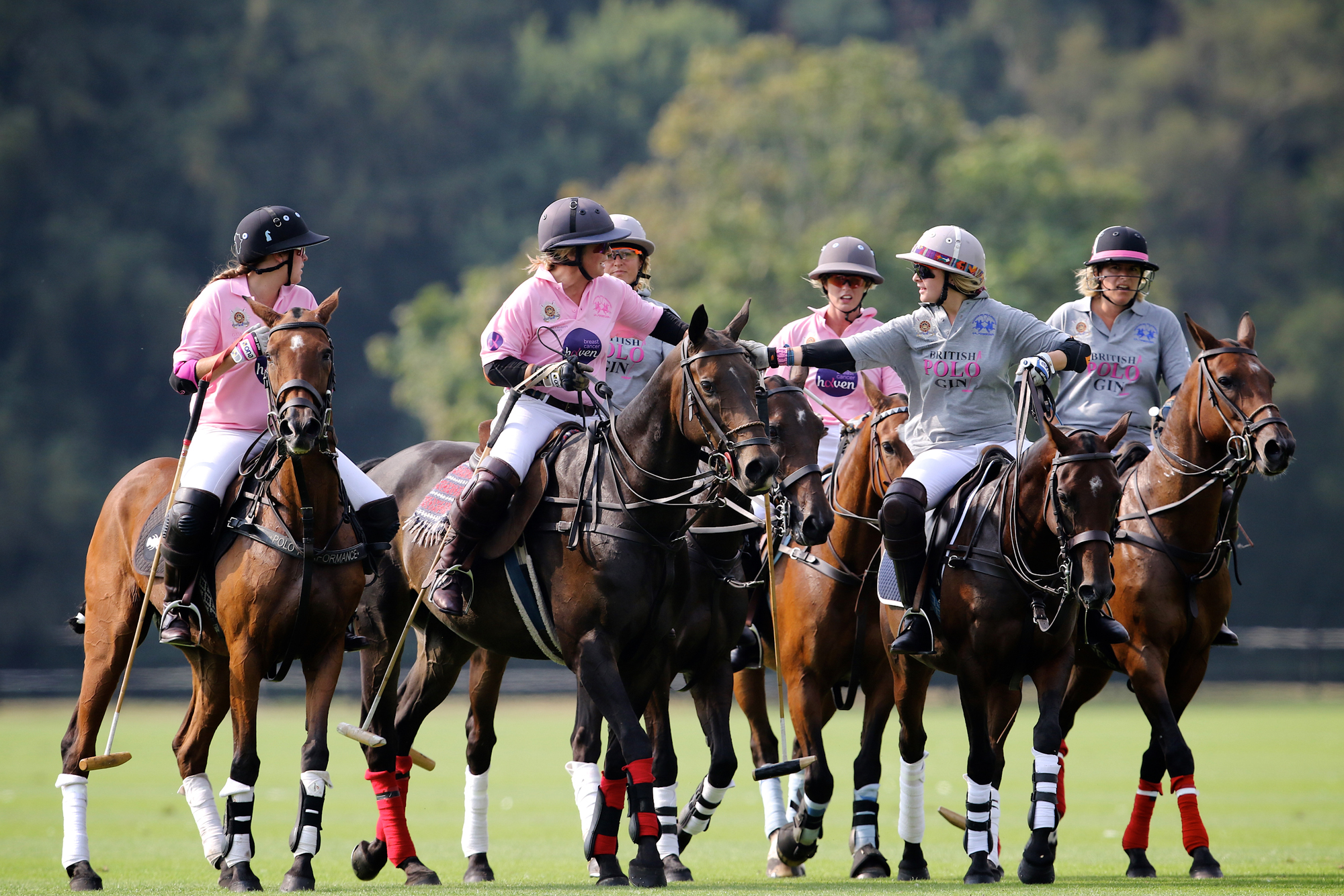 Guards Polo Club Develops Ladies Charity Day Polo The