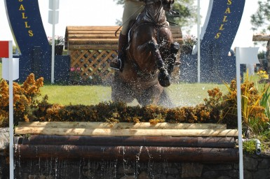 Captain Geoff Curran and Kilkishen in the CIC*** World cup qualifier at Tattersalls in Ireland Pic:Camilla Walter/www.tppics.com