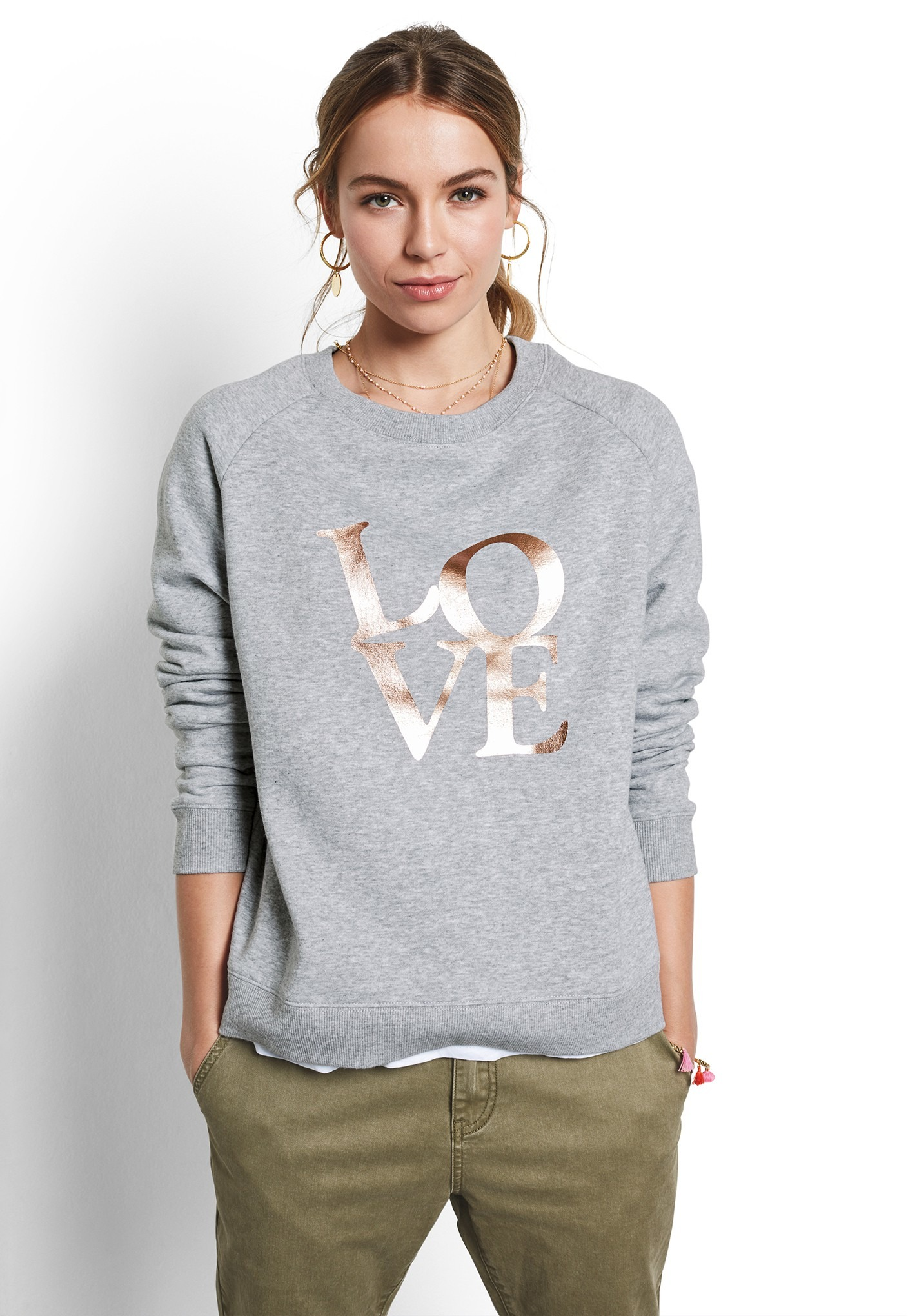 Love Stack Sweat Top</a>