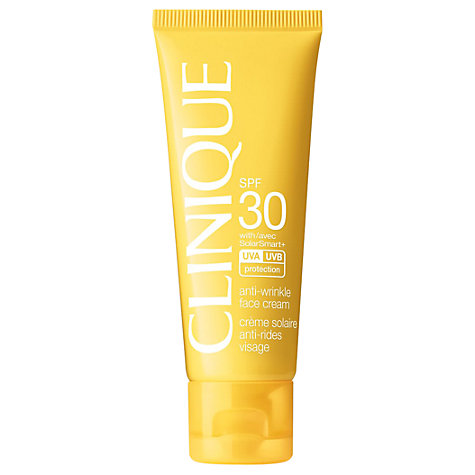 Clinique Anti-Wrinkle Facial Sun Cream</a>