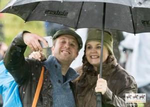 Rain didn't stop the fun
