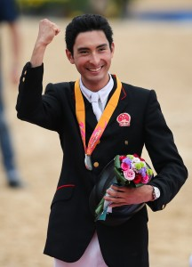 Winning silver at the Asian Games September 2014 Photo credit Zhang Fan
