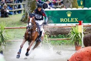 Alex riding Harbour Pilot C at the World Equestrian Games Photo Paul Xia Yuanpu