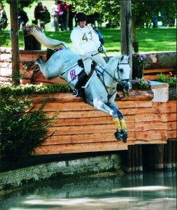 Anne-Marie at the European Championships, Burghley 1997