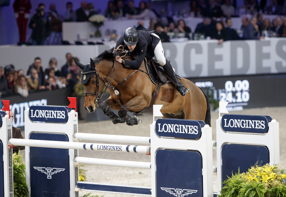 Spain's Eduardo Alvarez Aznar galloped to victory with Rokfeller de Pleville Bois Margot © Stefan Lafrentz/FEI
