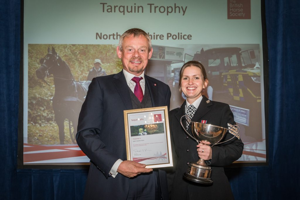 Cavaleiros excepcionais comemorados na cerimônia anual de premiação da British Horse Society 1