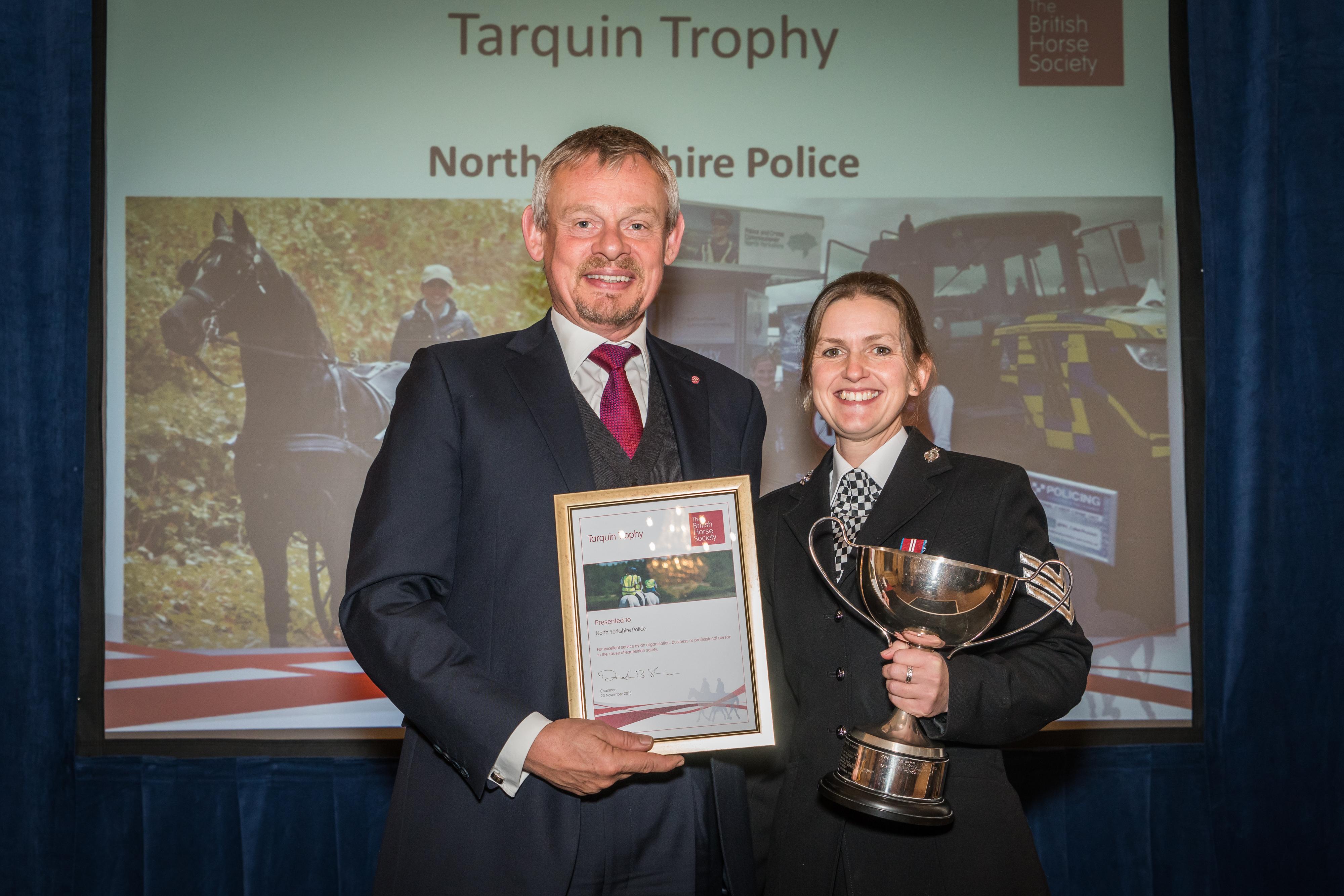 Cavaleiros excepcionais comemorados na cerimônia anual de premiação da British Horse Society 2