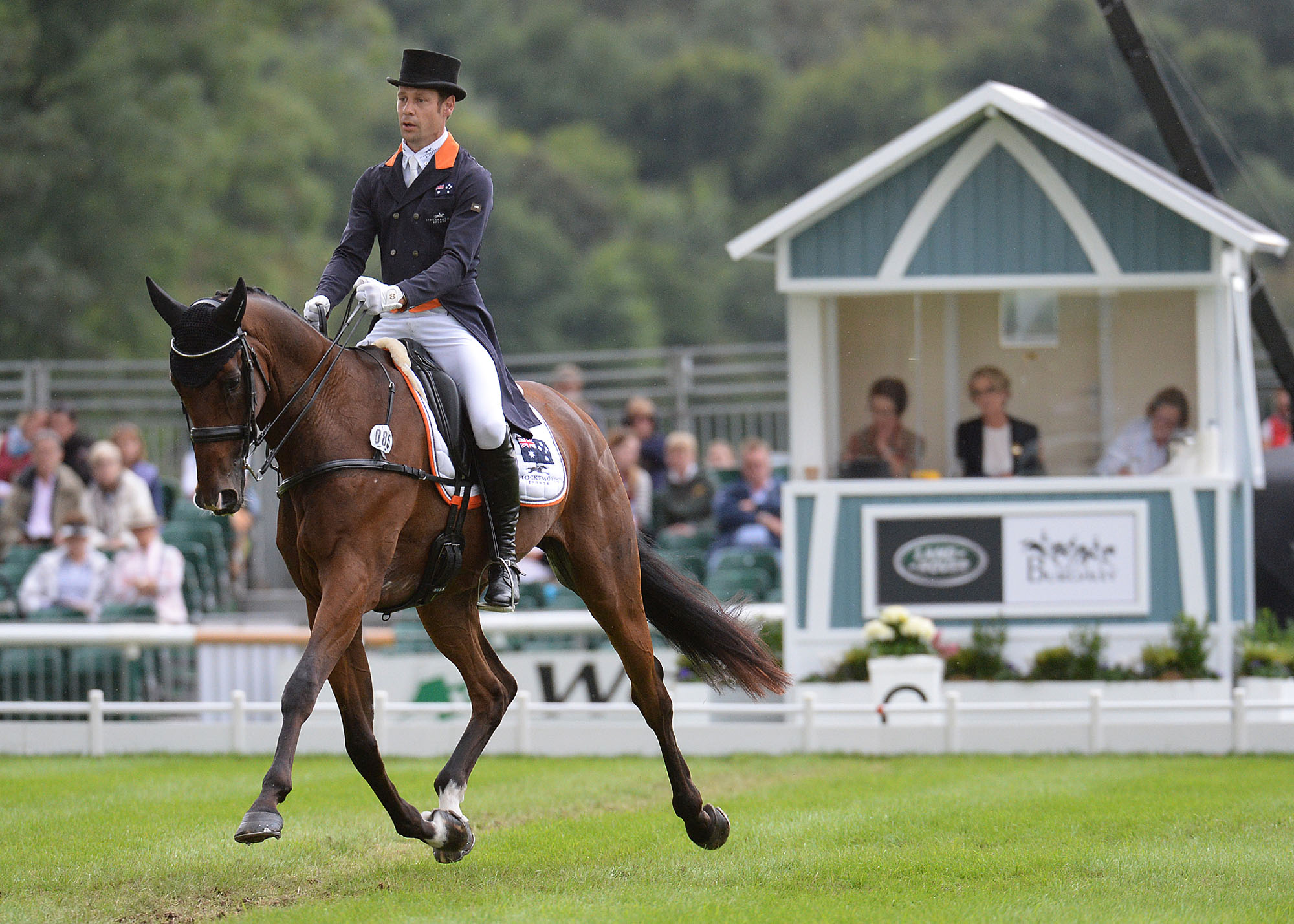 Christopher Burton and Nobilis 18 © Land Rover Burghley Horse Trials Peter Nixon