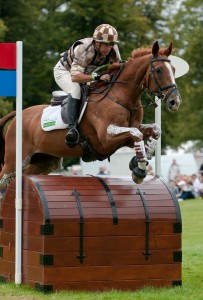 Matt Ryan and Bonza Puzzle at Burghley Horse Trials 2009