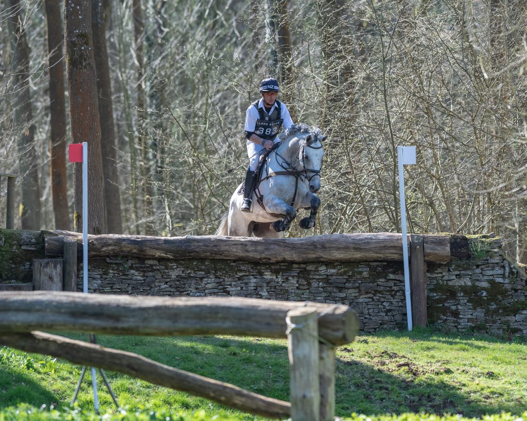 Andrew Nicholson and Belona over fence 17