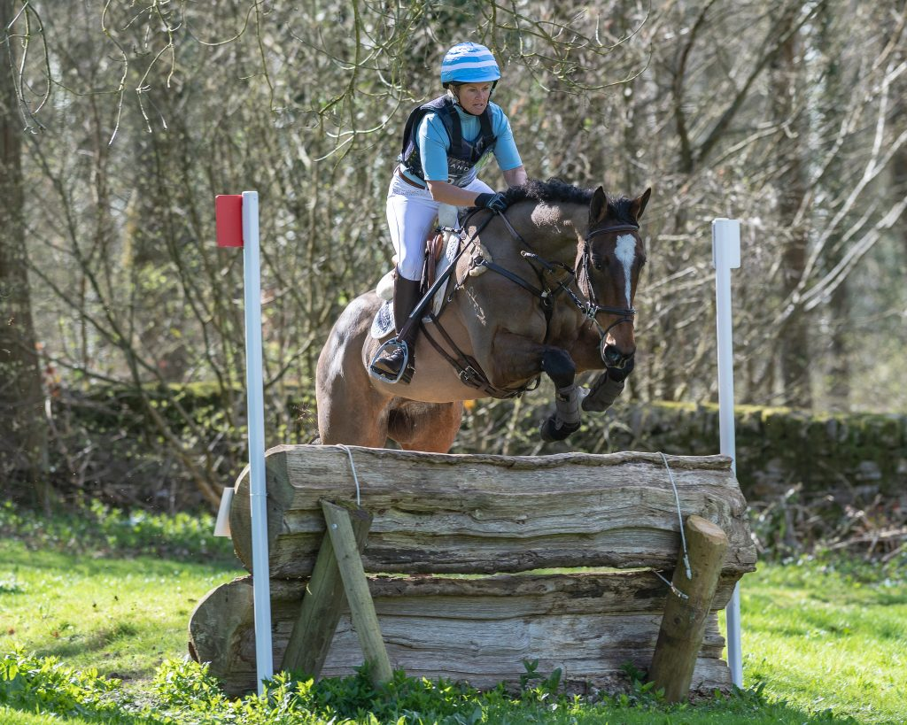Jonelle Price and Kindred Spirit IV at fence 18
