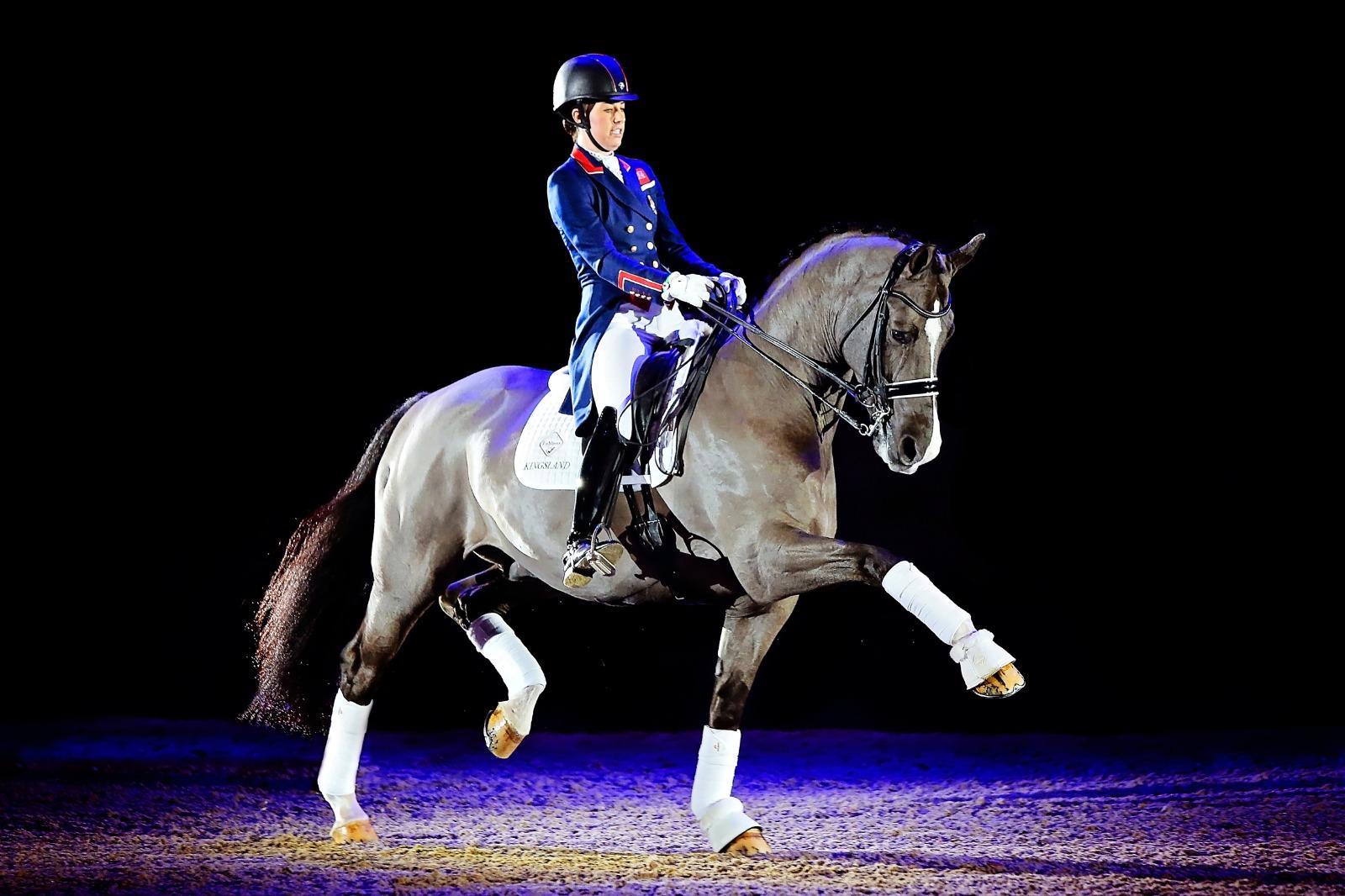 Valegro dirige-se ao Liverpool International Horse Show 2