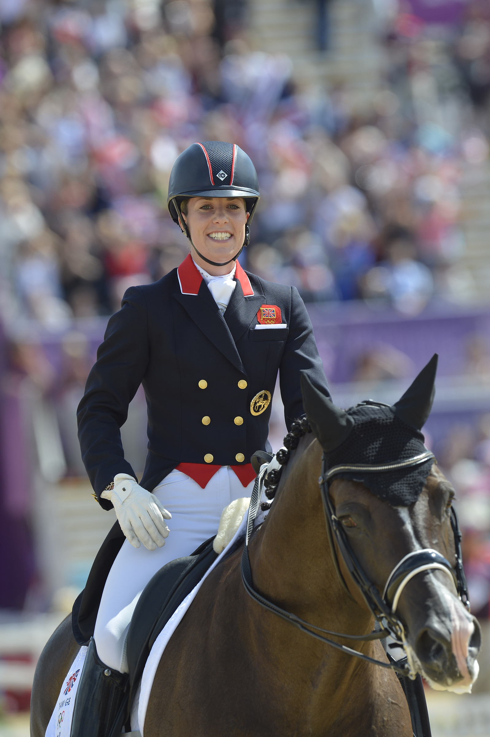 The multiple record-breaking Dressage partnership of Great Britain's Charlotte Dujardin and Valegro are in search of even more golden glory in Rio. © Kit Houghton/FEI