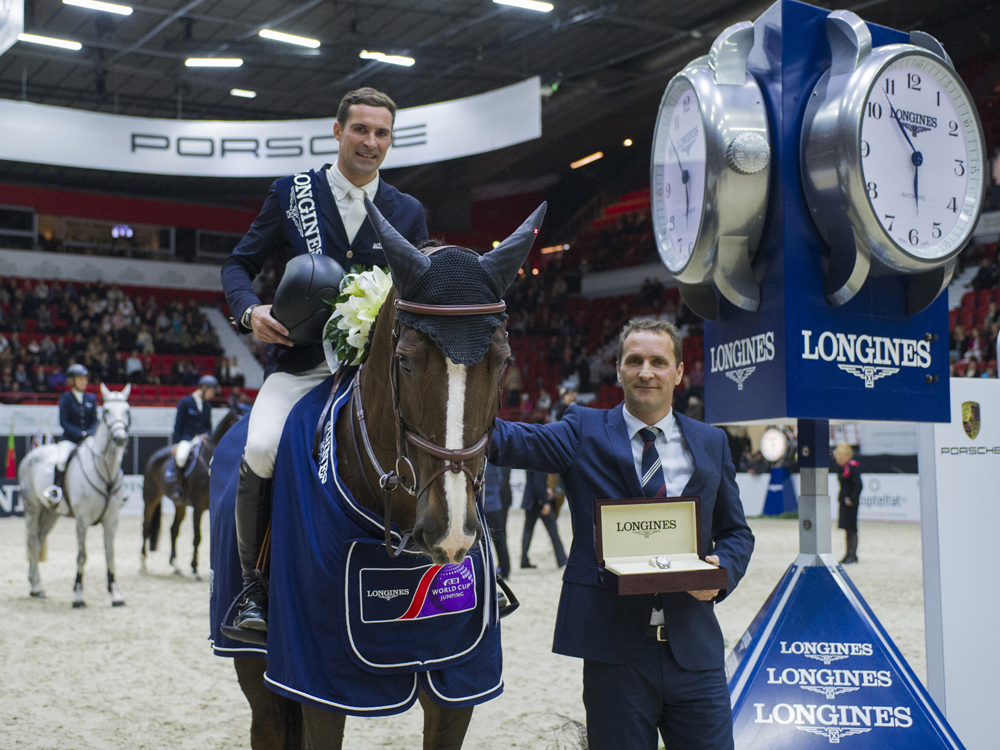 Romain Duguet and Quorida de Treho © FEI/Satu Pirinen