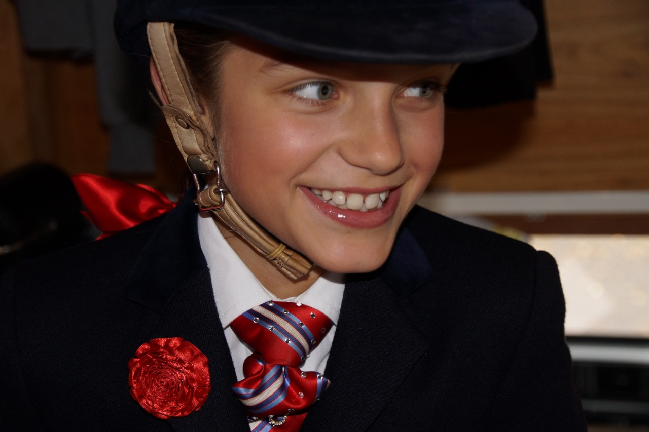 Before Show Pony Championship at HOYS (age 8)