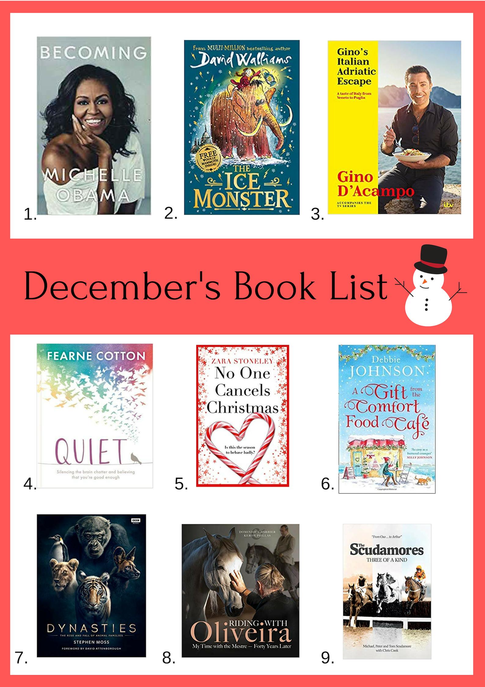 Lista de Livros dezembro de 2018 | Recursos 1