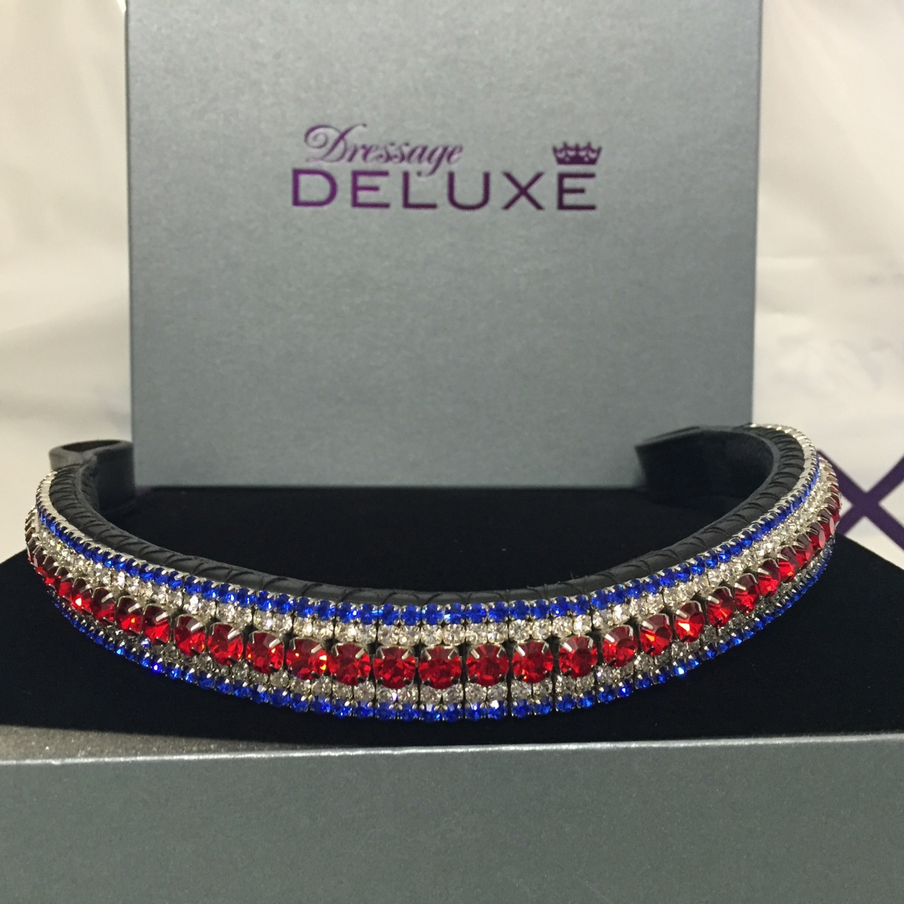 Dressage Deluxe Union Jack Browband