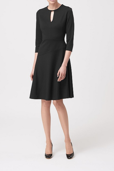 Eleanor Black Dress by LK Bennett</a>