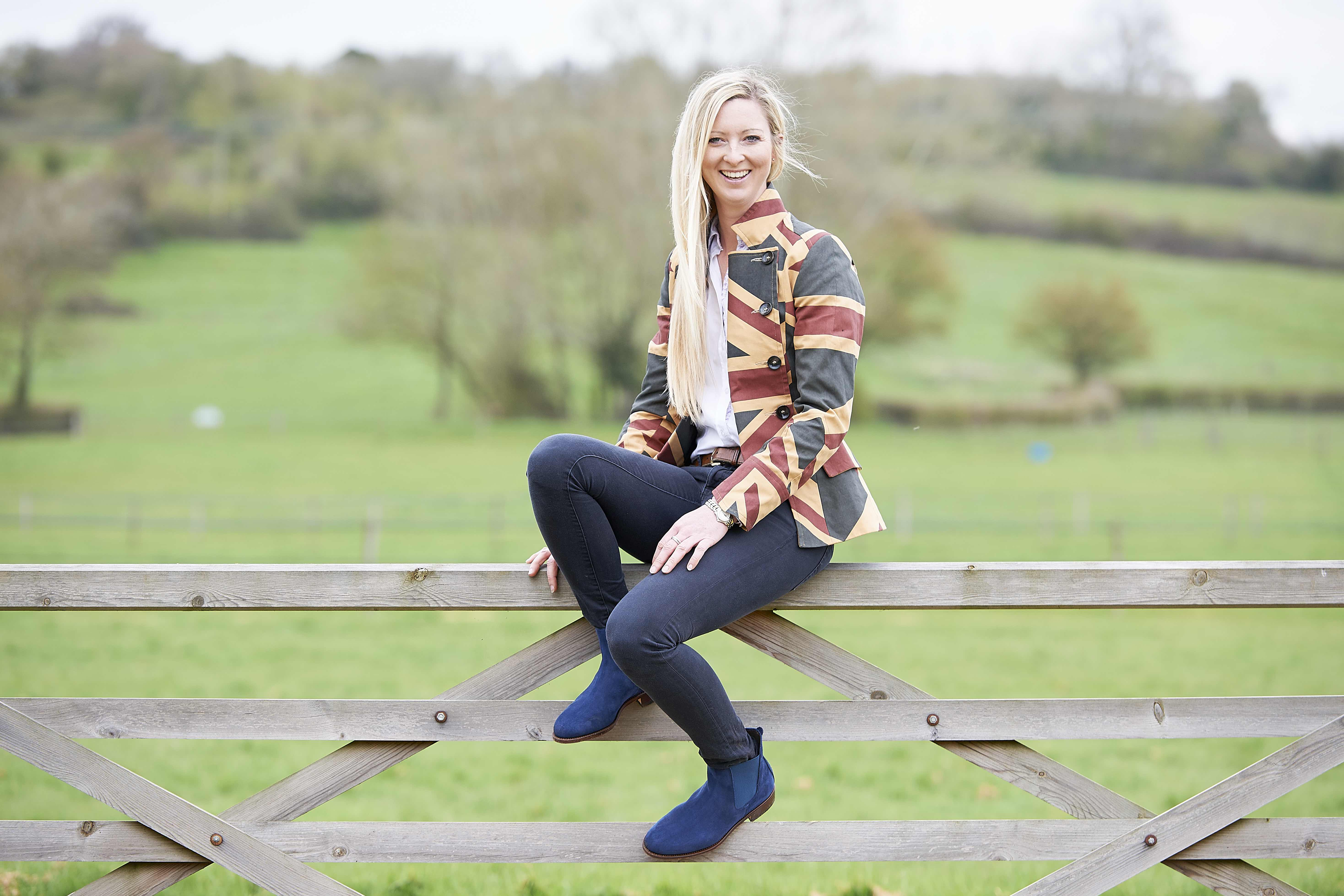 Eventer Georgie Spence the 'face' of The Spanish Boots Summer 2016 collection