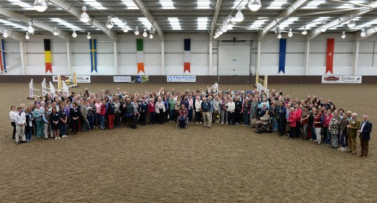 Pony Club A Test Reunion at Addington Manor Equestrian Centre, Buckinghamshire, UK on the 23rd June 2015