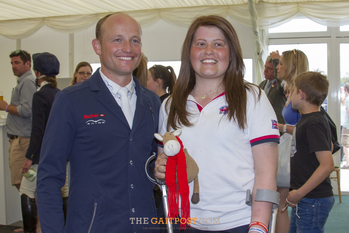 Michael Jung, Hannah Francis and Willberry Wonder Pony