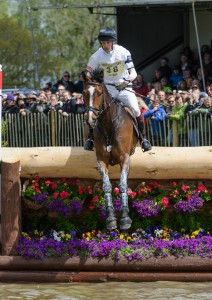Harry Meade and WILD LONE - Cross Country phase, Mitsubishi Motors Badminton Horse Trials, Badminton House, 9th May 2014