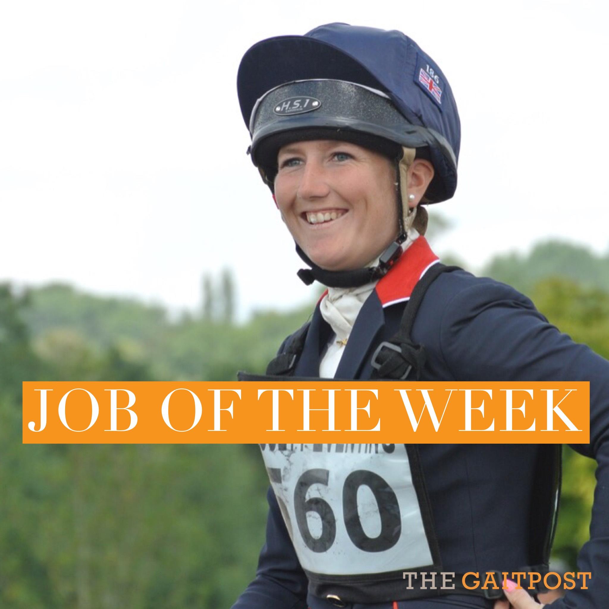 Laura Collett job of the week