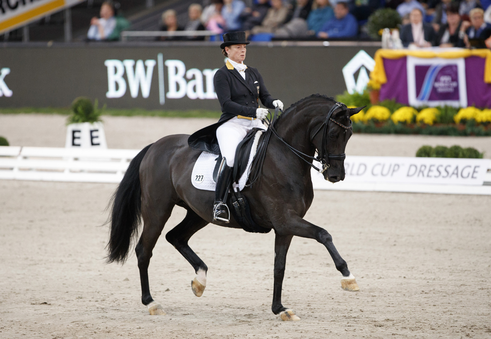 The world no. 1 partnership of Isabell Werth and Weihegold  © Stefan Lafrentz/FEI