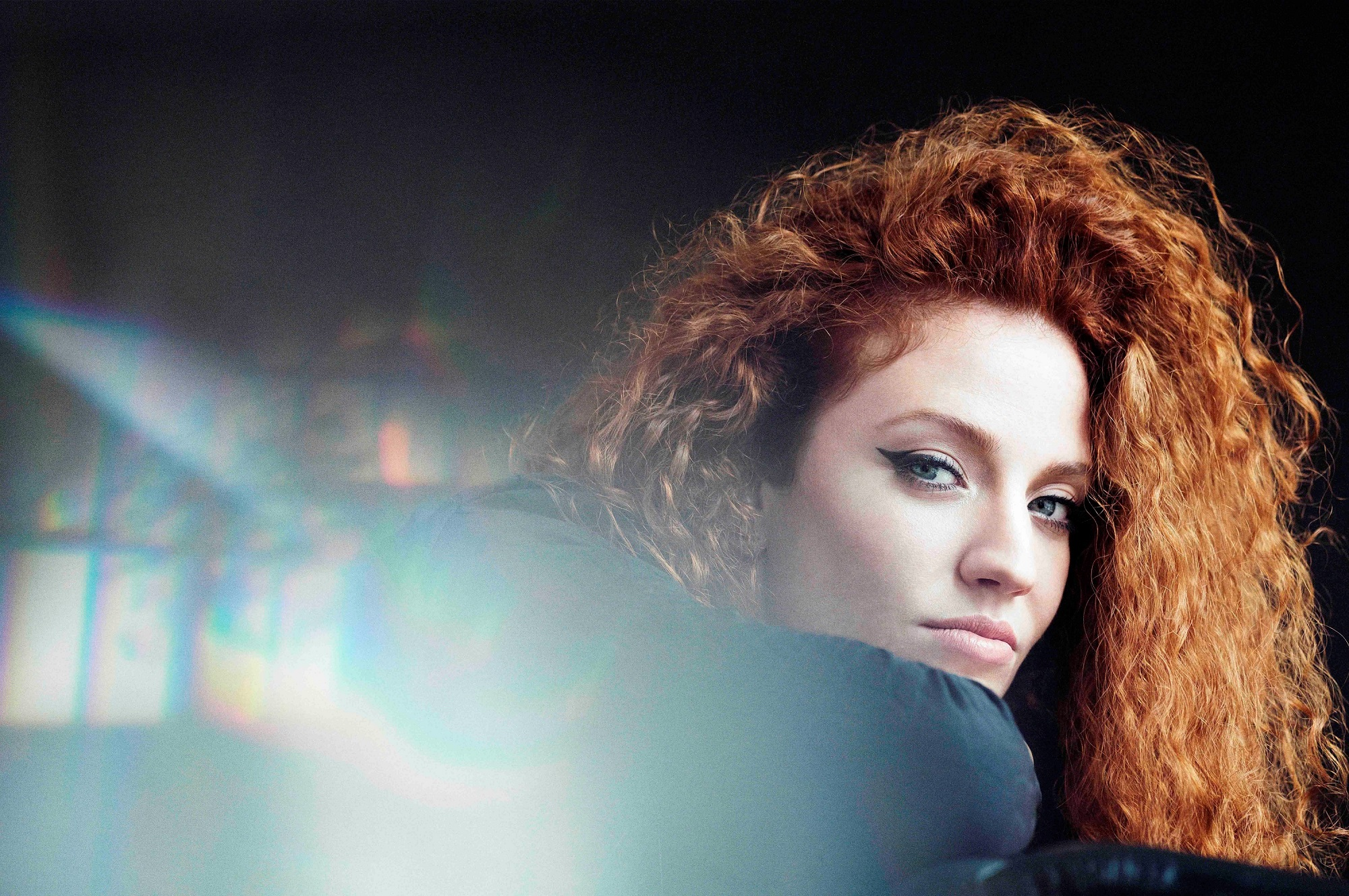 Jess Glynne performs at Sandown Park racecourse on 13 July