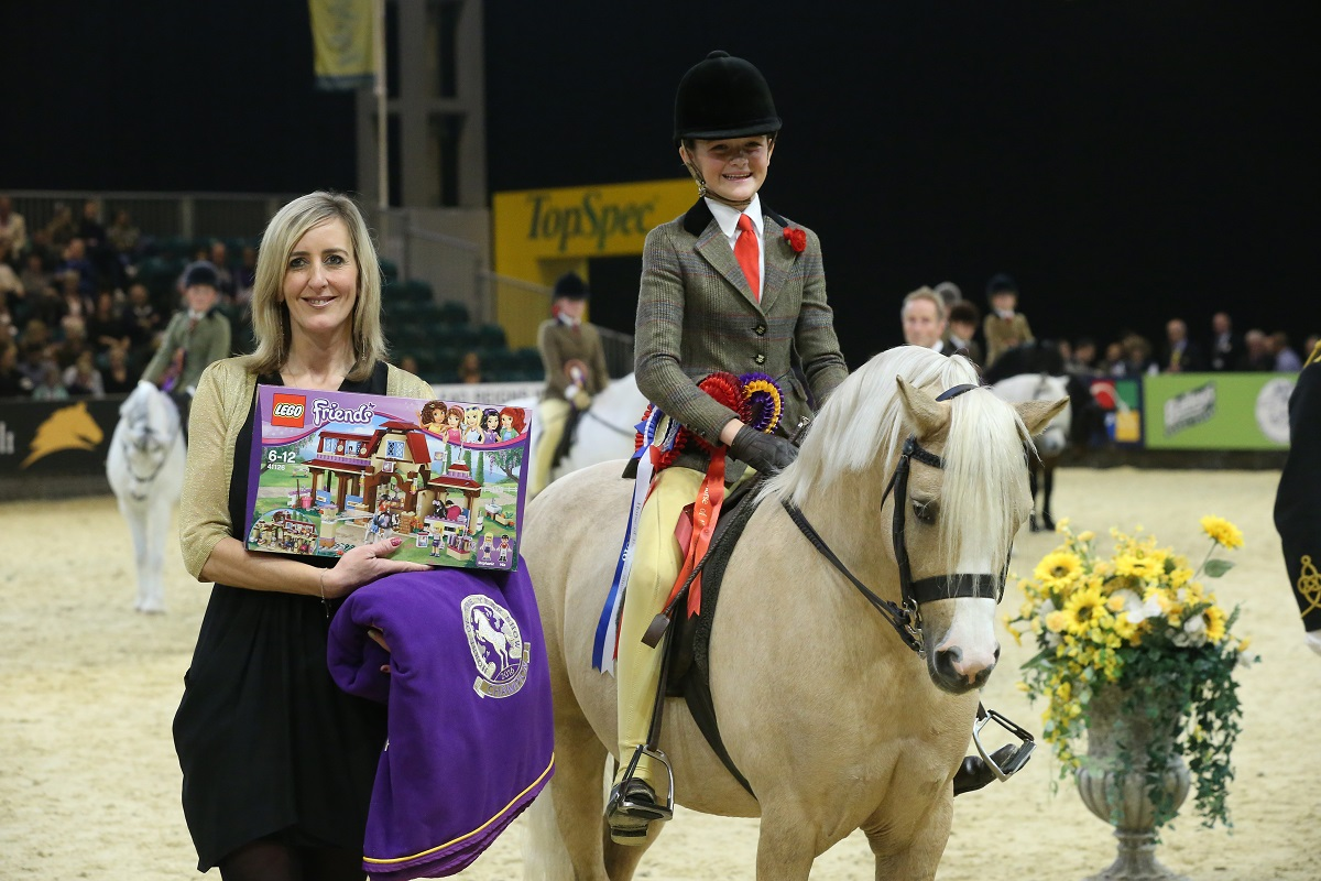 Lego Friends Junior M & M Ridden Pony of the Year © ES Photography