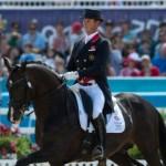 Carl Hester (GBR) & Uthopia - Dressage Grand Prix - London 2012 Olympic Games © Jon Stroud Media