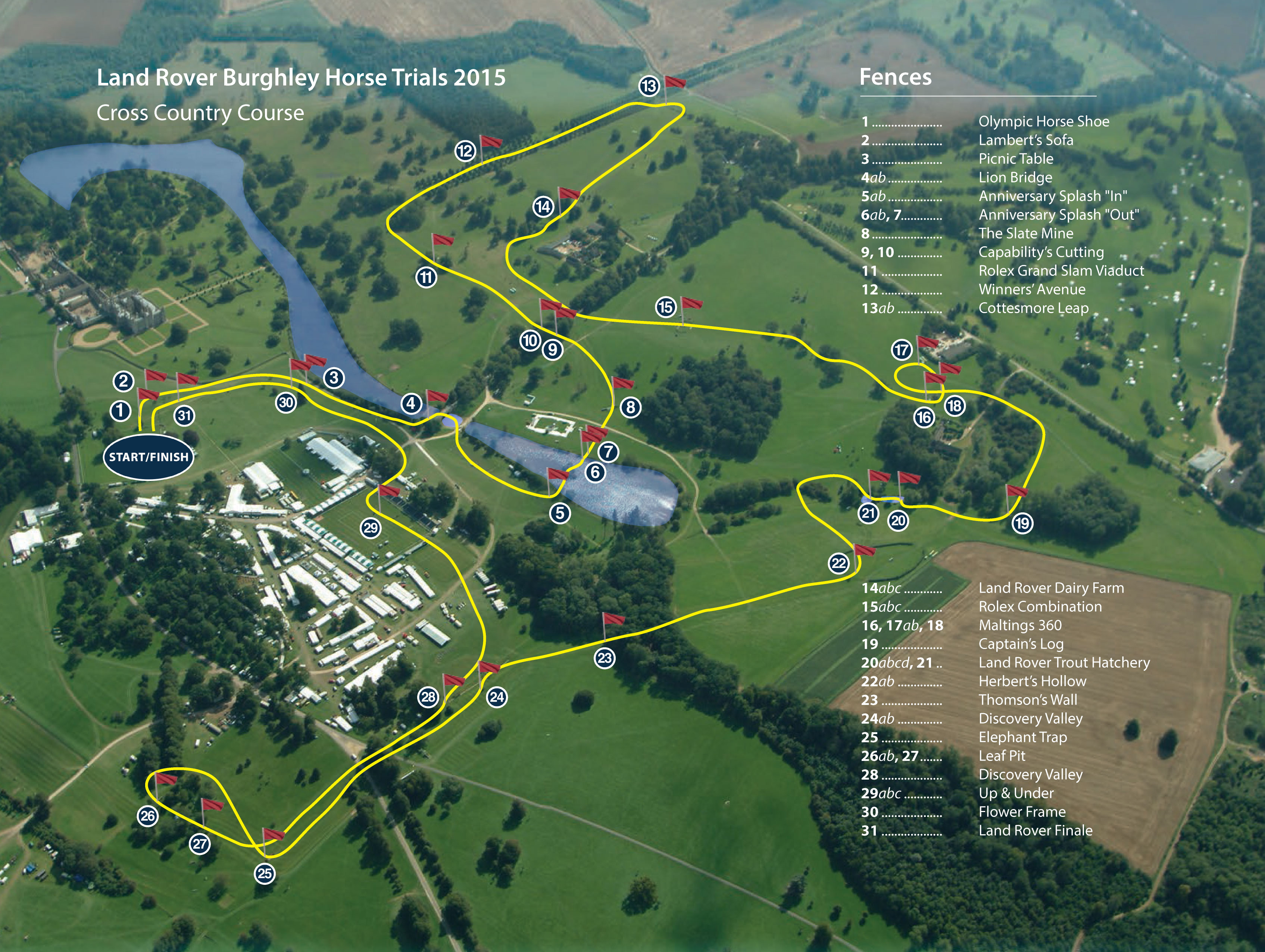 Albion Castle Land Rover Burghley Horse Trials Preview