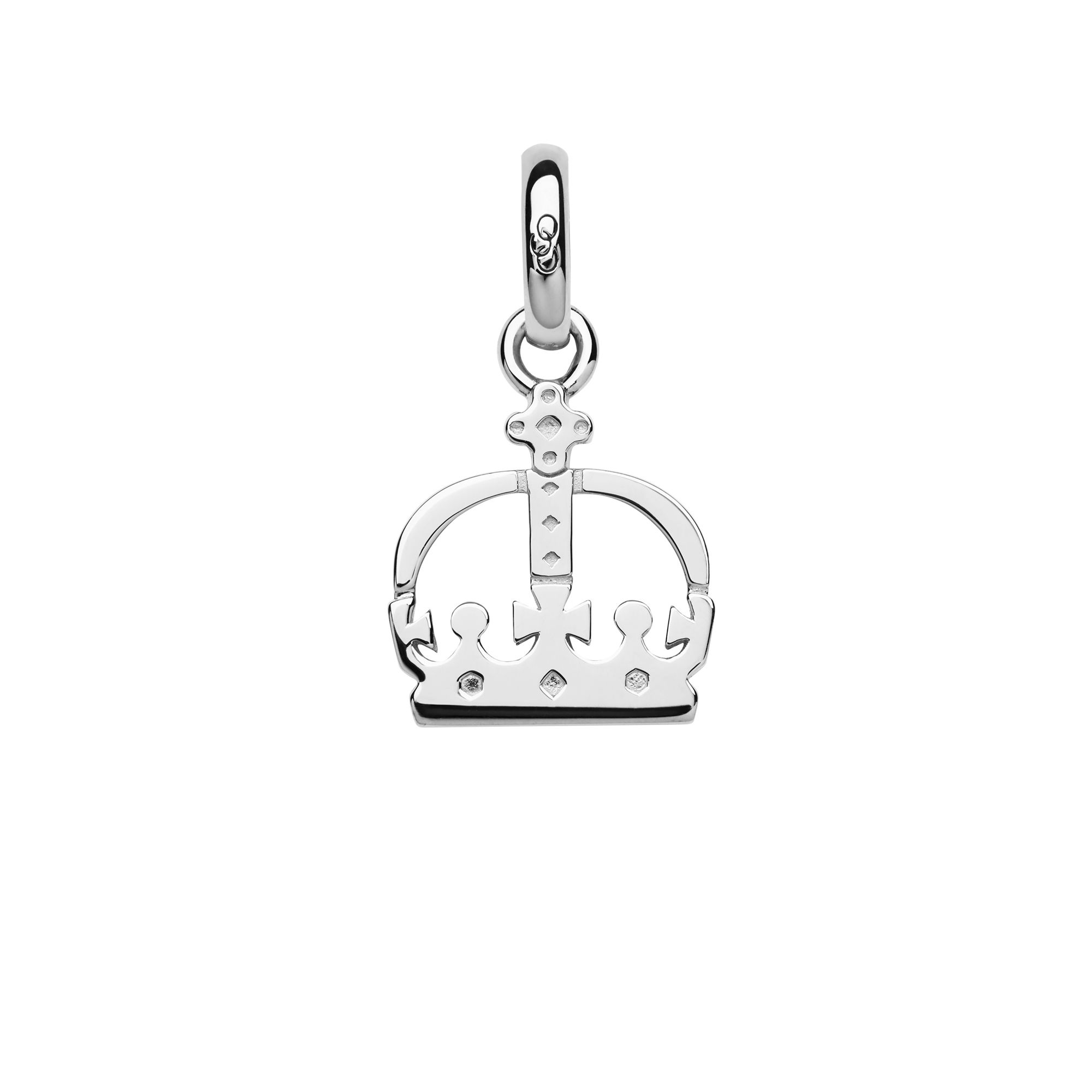 Ascot Sterling Silver Crown Charm</a>