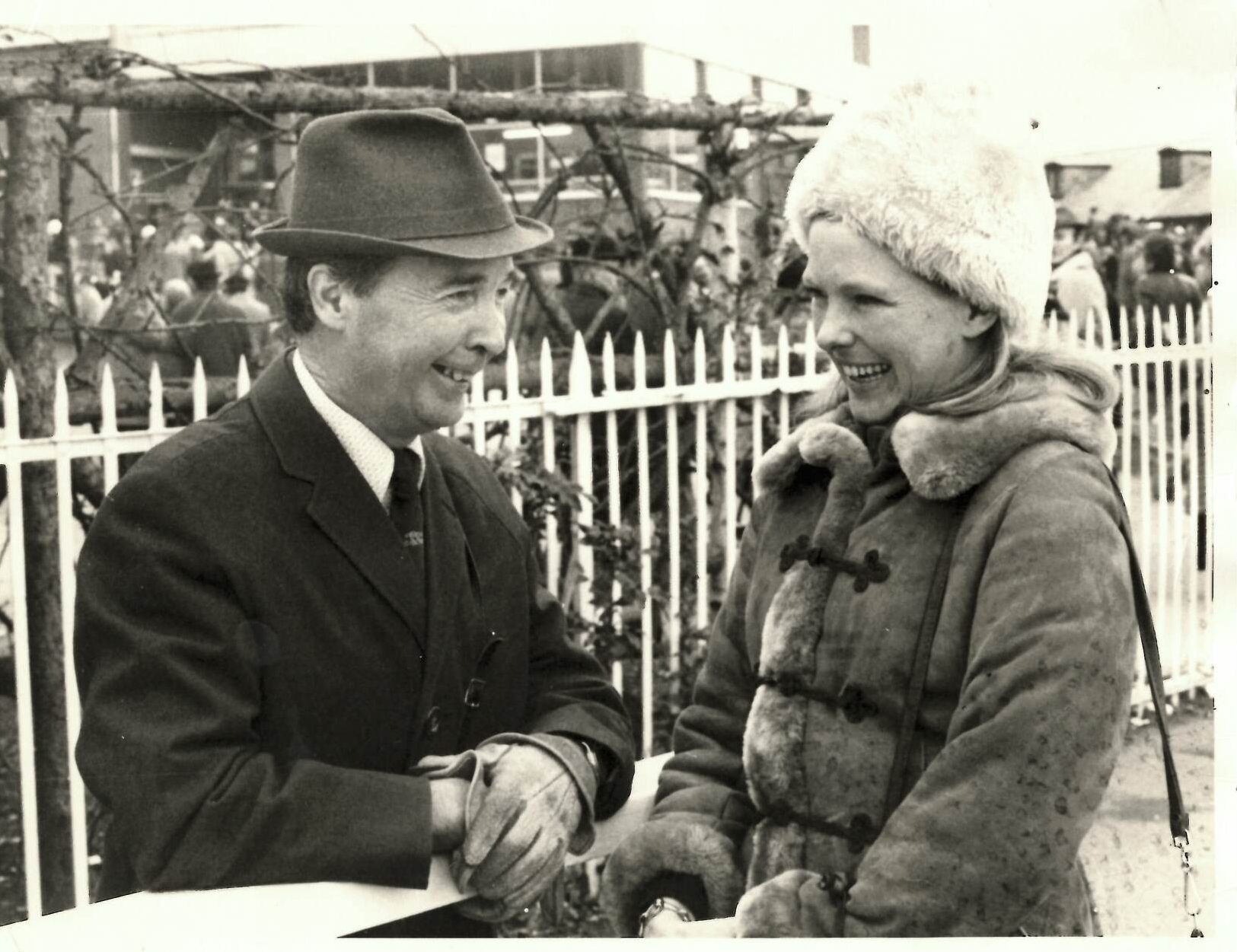 Meriel Tufnell and Dick Francis