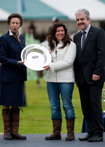 HRH Princess Royal and Catherine Witt - Land Rover Burghley Horse Trials 2011 (c) Nico Morgan