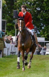 Badminton House, Gloucestershire, 11th May 2014. Harry Meade and WILD LONE - Mitsubishi Motors Badminton Horse Trials 2014
