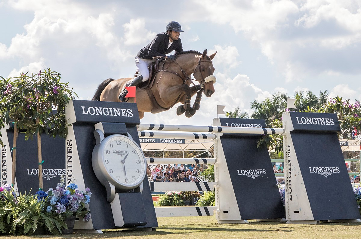 Egypt's Nayel Nassar takes the win and top qualifying points with Lordan © FEI/ Debra Jamroz