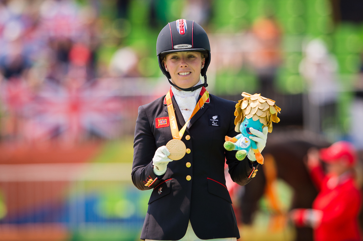 Para Equestrian Dressage Medals For Gb On Day 7 The Gaitpost