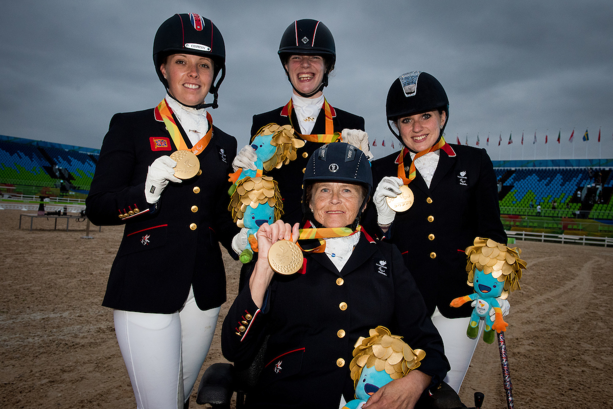Team Victory Ceremony © BEF / Jon Stroud Media