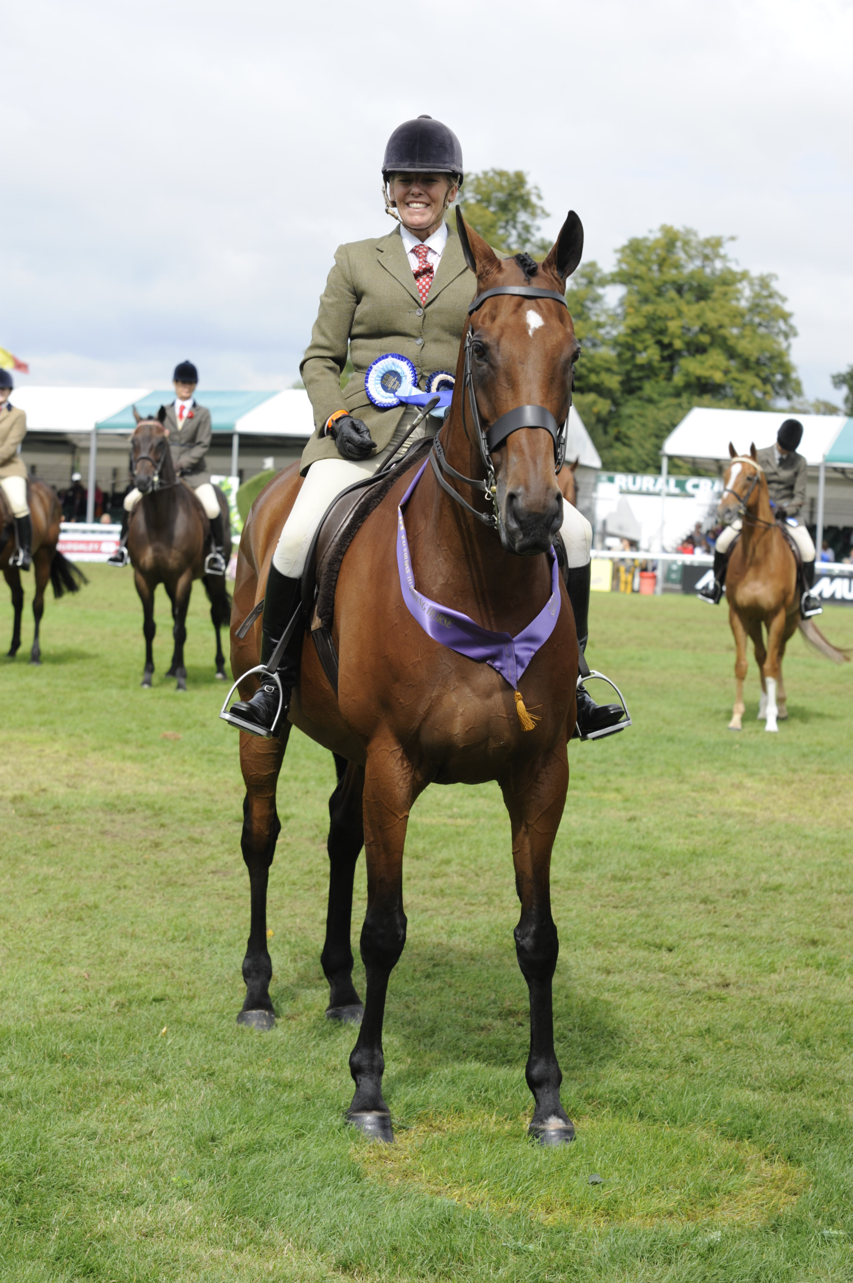 Retrained Racehorses Take To The Burghley Stage The Gaitpost