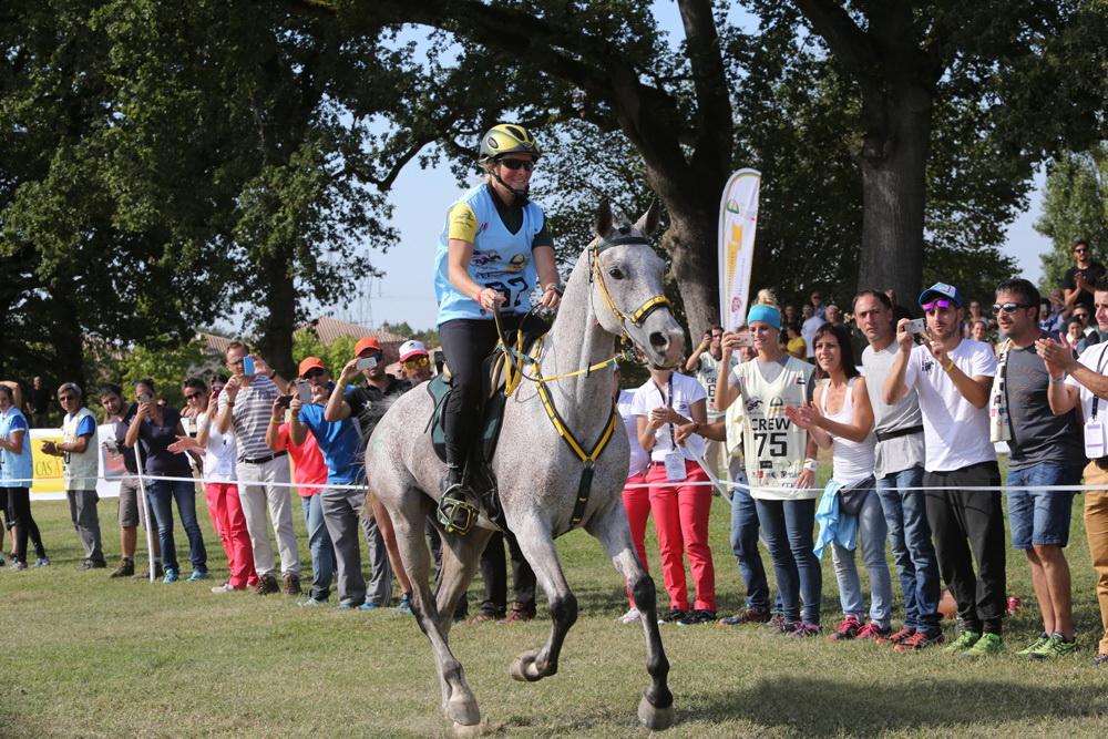 Sabrina Arnold wins Endurance Young Horses Champs   The Gaitpost