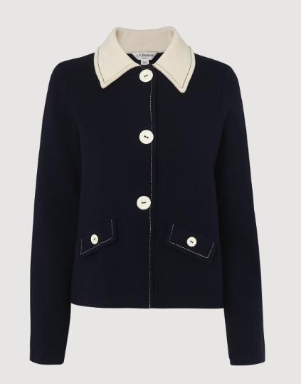 Lilah Contrast Collar Cardigan</a>   </div>   </div> <div class=