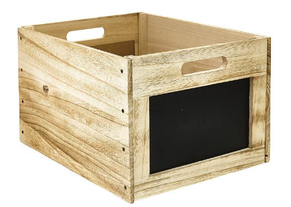 Wooden chalkboard crate</a>  </div>     </div>   <div class=