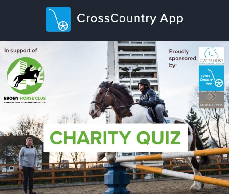 Noite de perguntas sobre caridade em ajuda ao Ebony Horse Club | Notícia 1