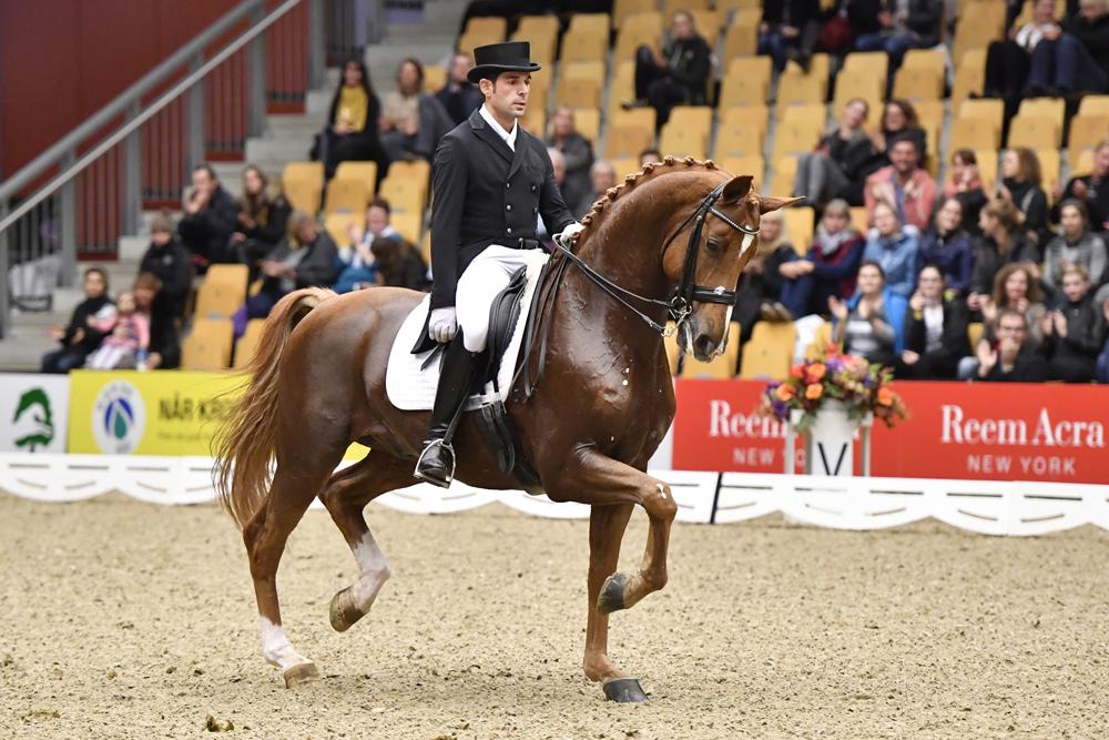 Severo Jesus Jurado Lopez riding Lorenzo for Spain © Annette Boe Ostergaard/FEI