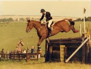 Wylie Junior Three day Event 1979