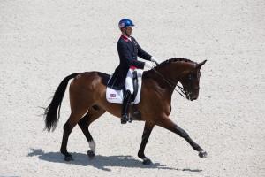 Carl Hester (GBR) & Nip Tuck - Grand Prix -  World Equestrian Games Test Event  (c) Jon Stroud
